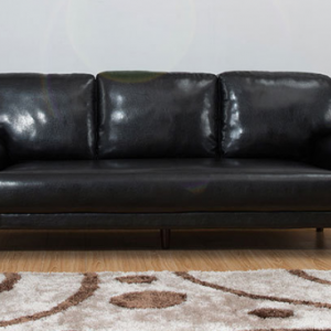 Preorder-Leather three-seat sofa