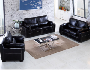 Preorder-Leather three-seat sofa+two-seat sofa+armchair