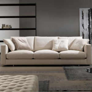Preorder-Fabric three-seat sofa